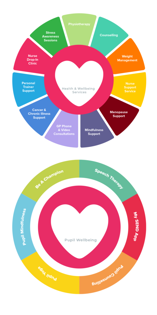 Whole school Wellbeing services